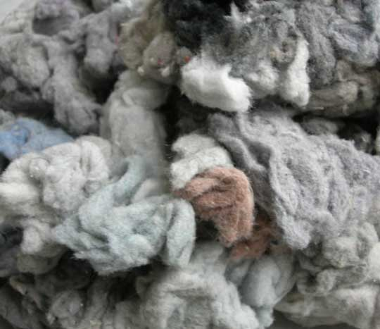 Virginie, reine des fibres textiles.
